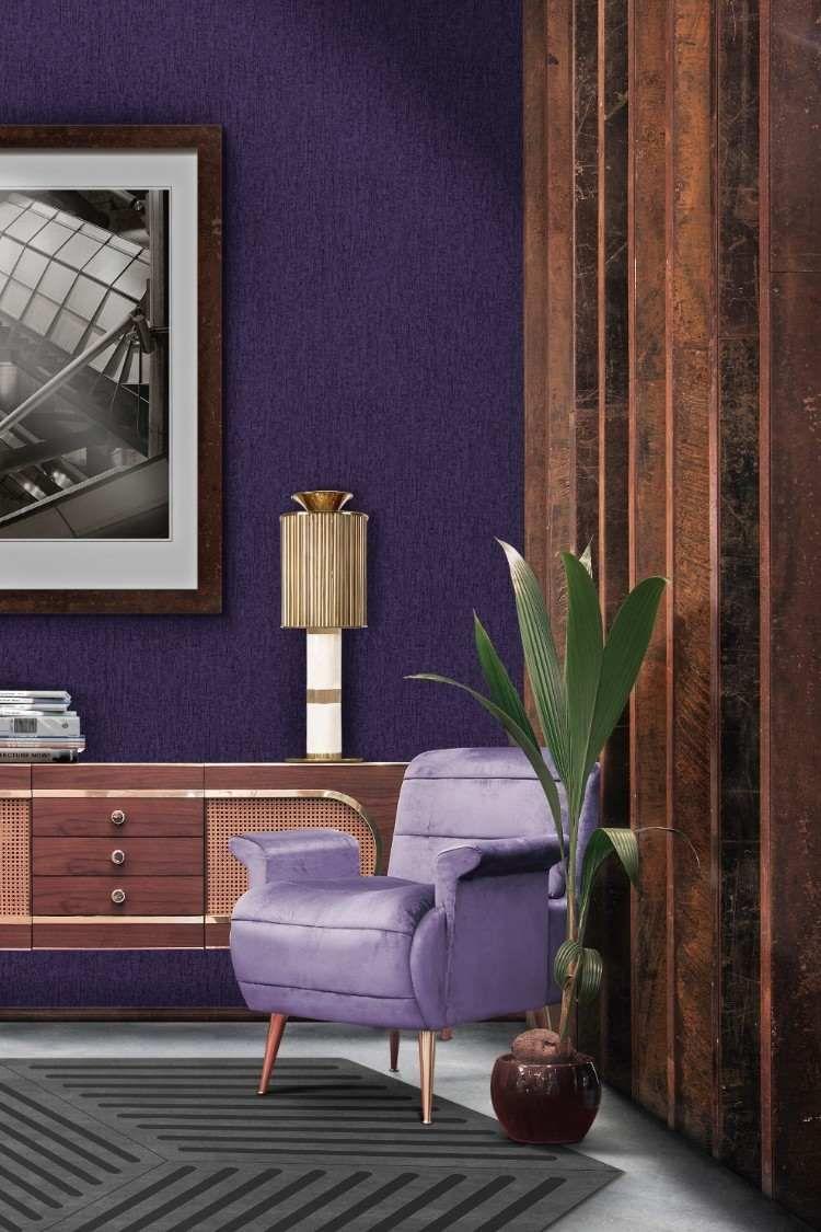 Cuisine Moderne Couleur Violet quelle couleur tendance 2018 peinture pour votre espace