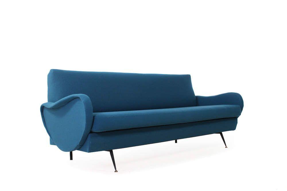 60s Italian Daybed Sofa Midcentury Modern Zanuso Style