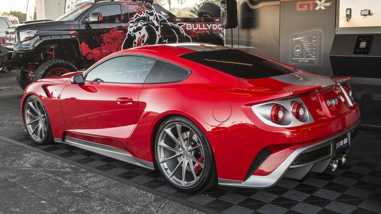 Zero To 60 Designs Creates A Fusion Of Ford Gt And Mustang Ford