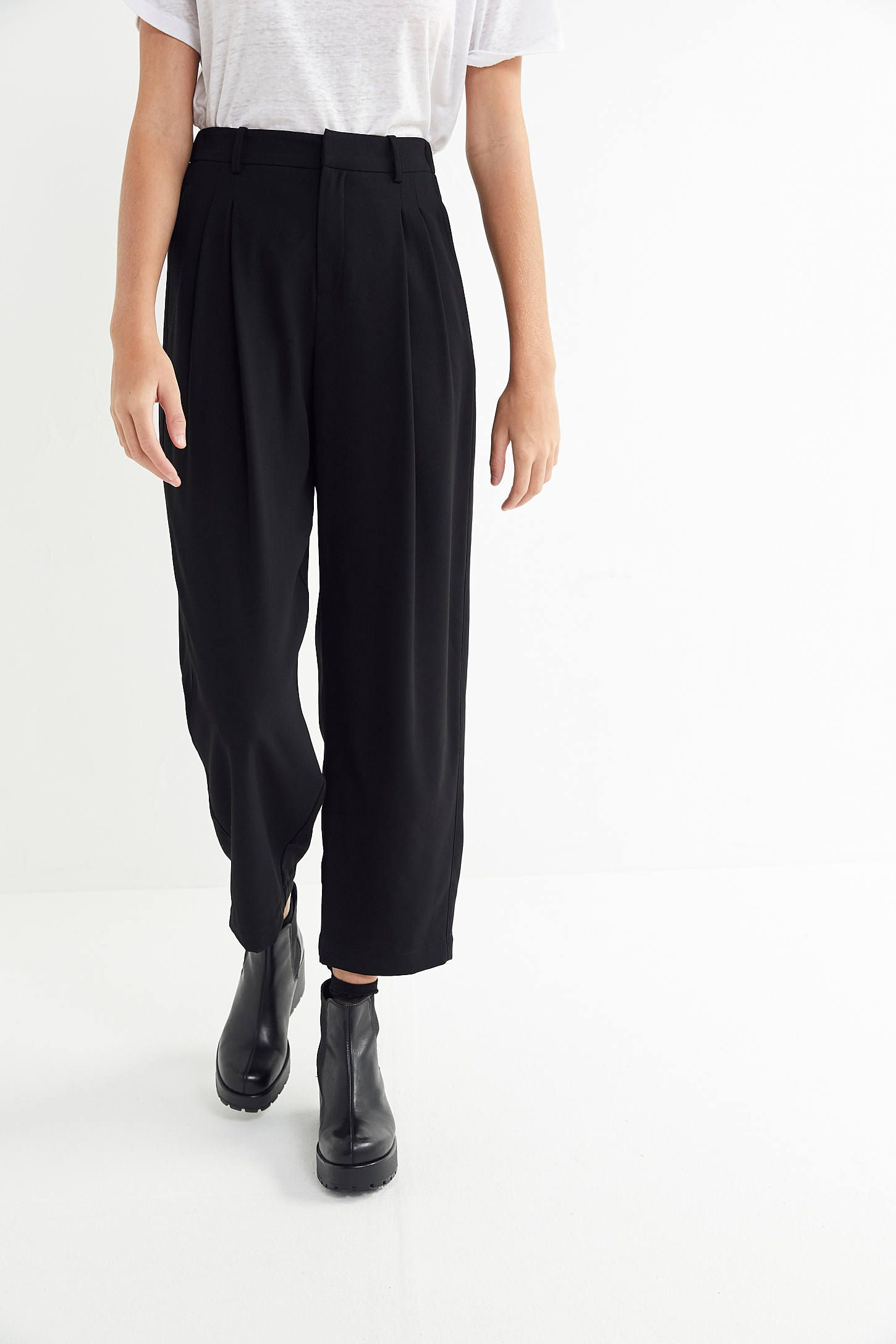 UO Arlo Pleated Pant in 2019  93f0ca08662