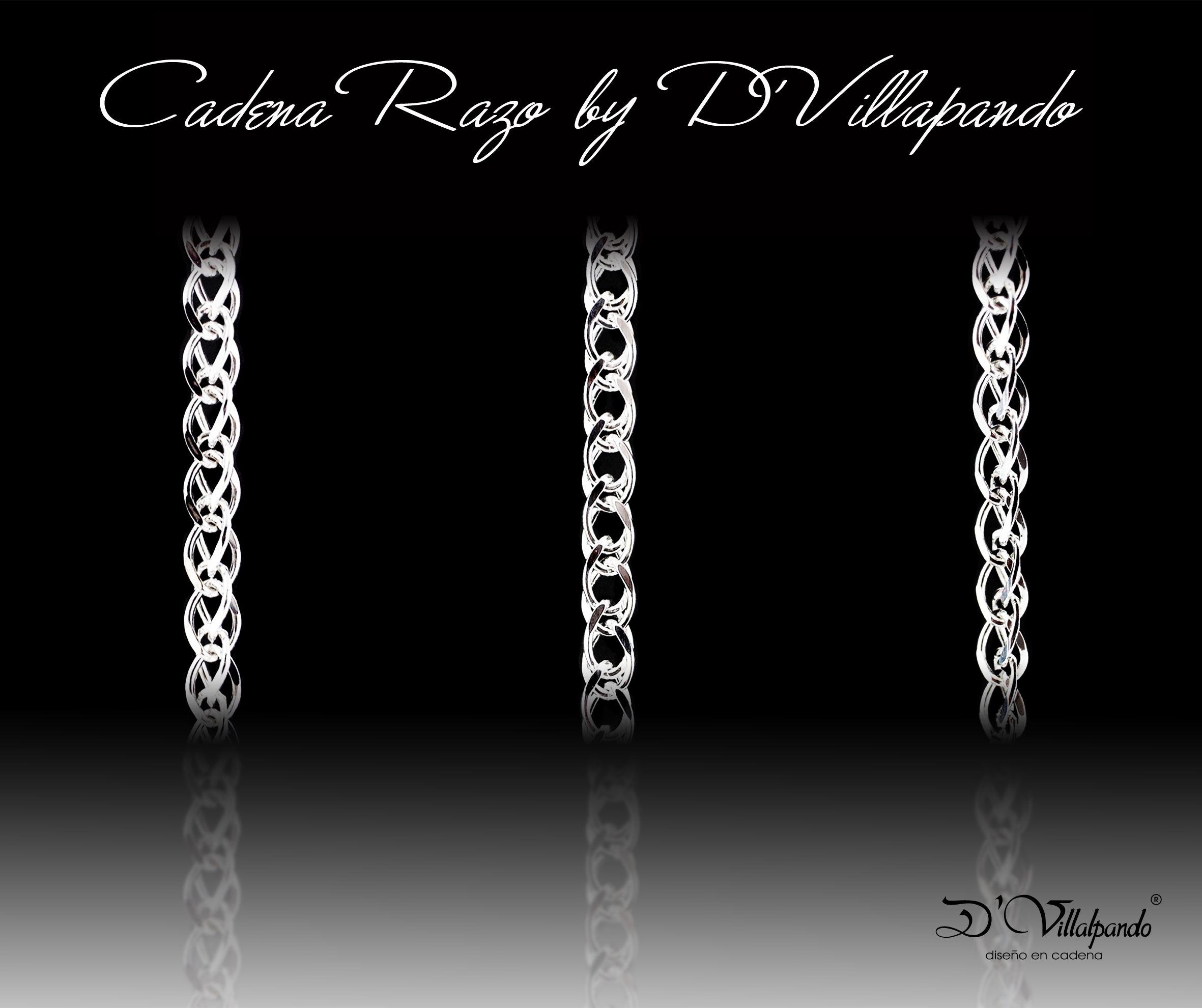 cumpleaños bomba Interior  Cadena Razo Plata .925 MD28V | Jewelry, Chain, Diamond