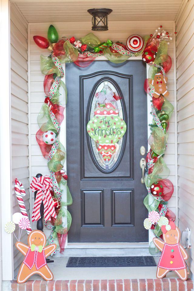 christmas doornana likeyeeeeesss - Candyland Christmas Door Decorations