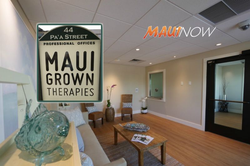 Maui Now: Maui Grown Therapies Introduces New CBD Full ...