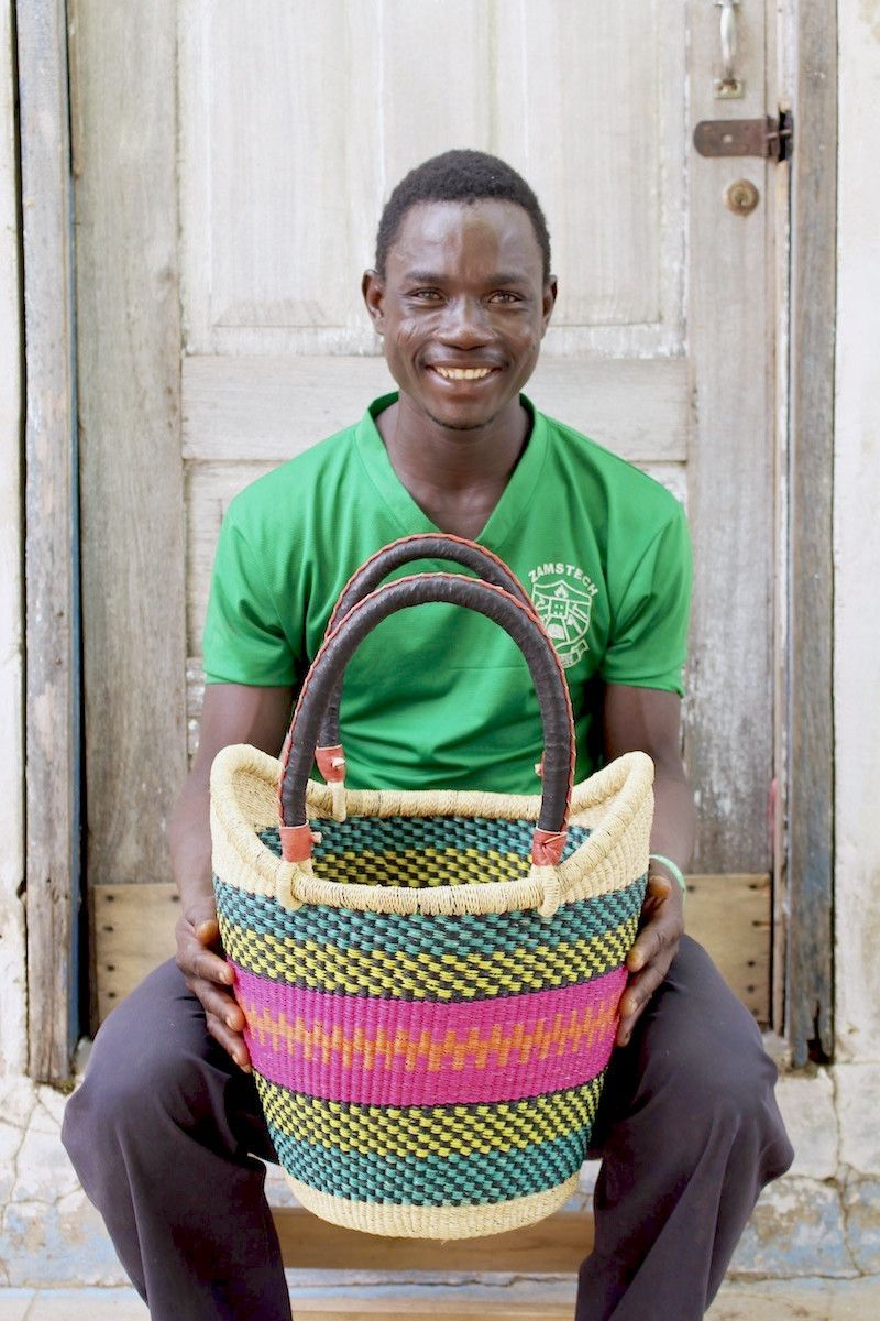 Nyariga Basket (Small) by Donatus