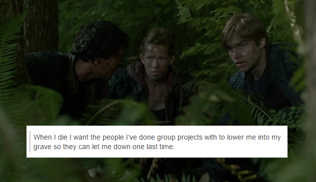 The 100 + Tumblr Text Posts by skeeterolson || Bellamy Blake, Sterling and Monroe || The 100 season 2 episode 1 - The 48