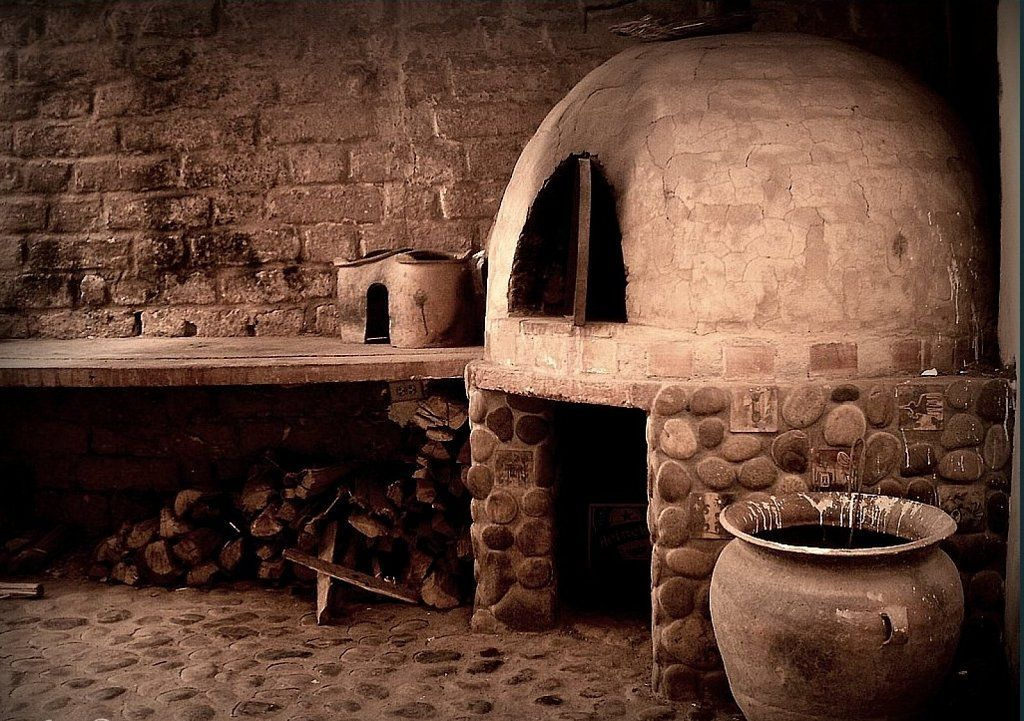 Un horno de le a pensado para tu jard n parrillero - Cocinar en horno de lena ...