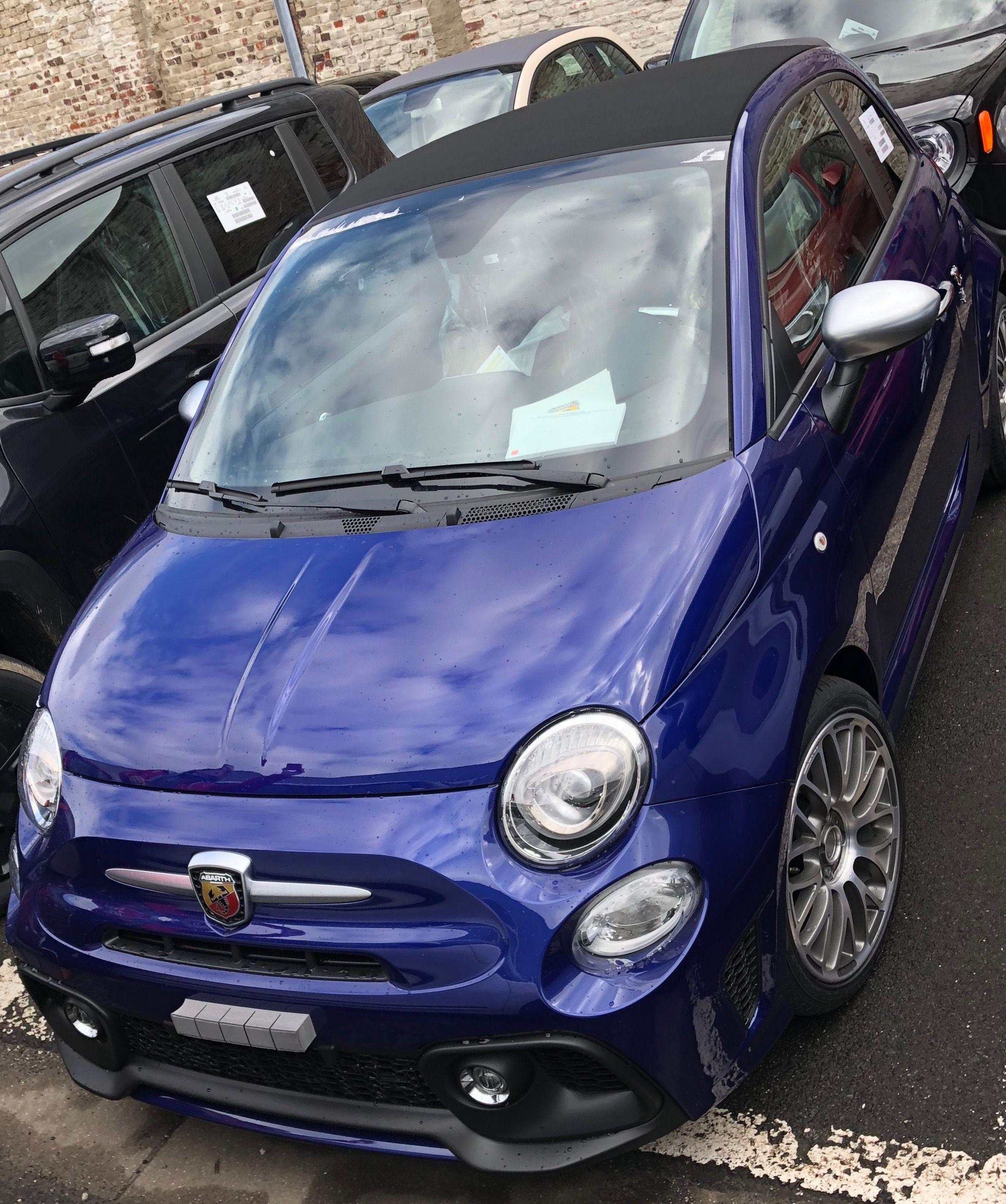 Fiat 595c Abarth Turismo Blu Podio Avec Images 2cv