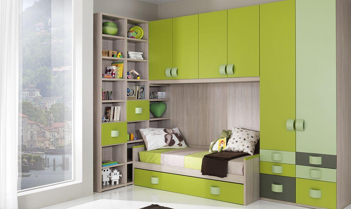 Libreria Sopra Letto : Letto con libreria soggiorno credenza ponte divano a contenitore
