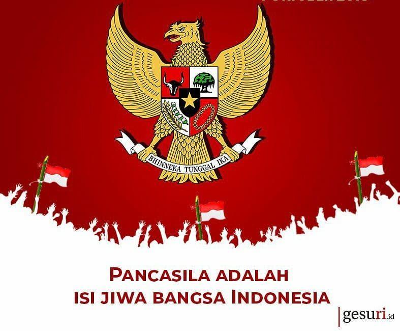 Pancasila Ideologi Bangsa Indonesia Indonesiadamai Indonesia Jakarta Bandung Medan Pa Superhero Birthday Party Indonesian Design Superhero Birthday