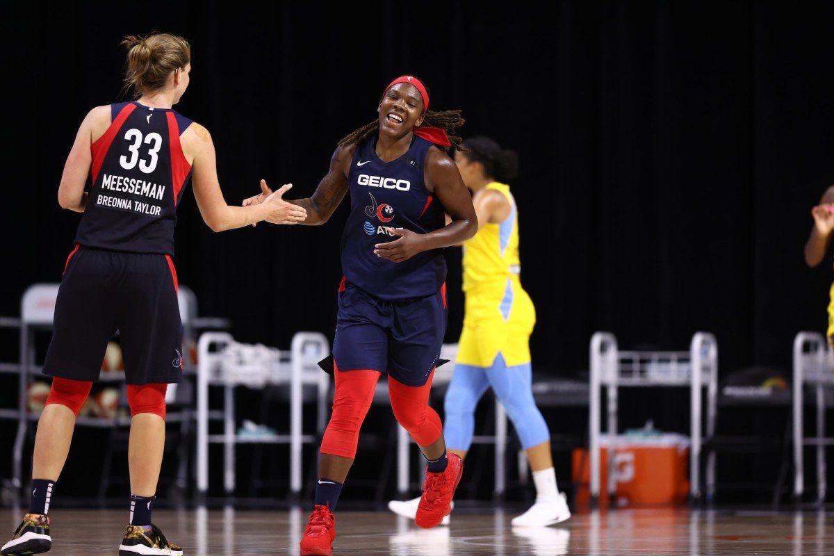 Hines Allen Scores 26 Points In Mystics 89 86 Win Vs Lynx In 2020 Hot Hands Breonna Taylor Wnba