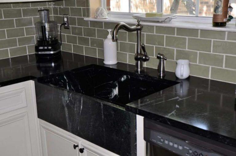 8 Awesome Black Kitchen Sink Design Ideas For Inspiration 9 Awesome Black Design Ideas Inspiration K Kitchen Sink Design Kitchen Marble Black Kitchen Sink