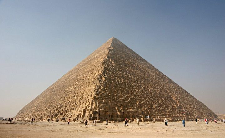 The Pyramid of Kheops http://www.ancient-code.com/25-facts-about-the-great-pyramid-of-giza/