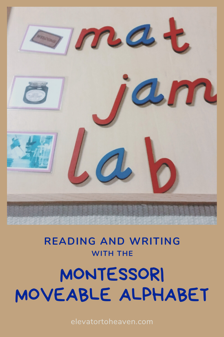 Montessori Language Using the Moveable Alphabet in 2020