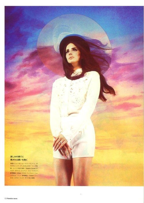 """Lana Del Rey for the new issue of  """"Tokyo Numero"""" magazine. (Photographed by Mariano Vivanco). (4)"""