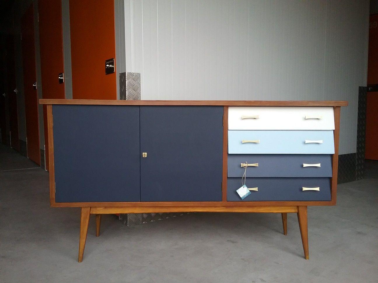 Aparador vintage 60'S mueble Diseño nórdico escandinavo