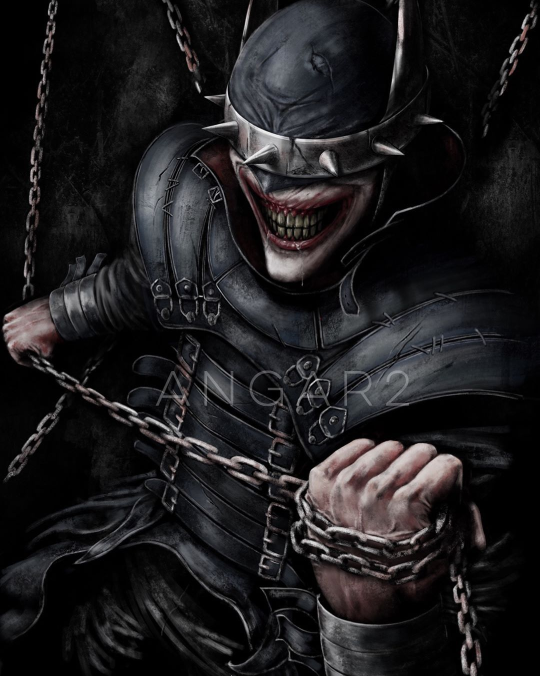 The Batman Who Laughs Fanart I Finally Had The Chance To Do