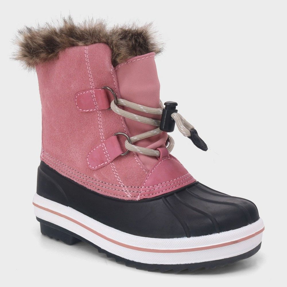 Girls' Araceli Short Suede Winter Boots