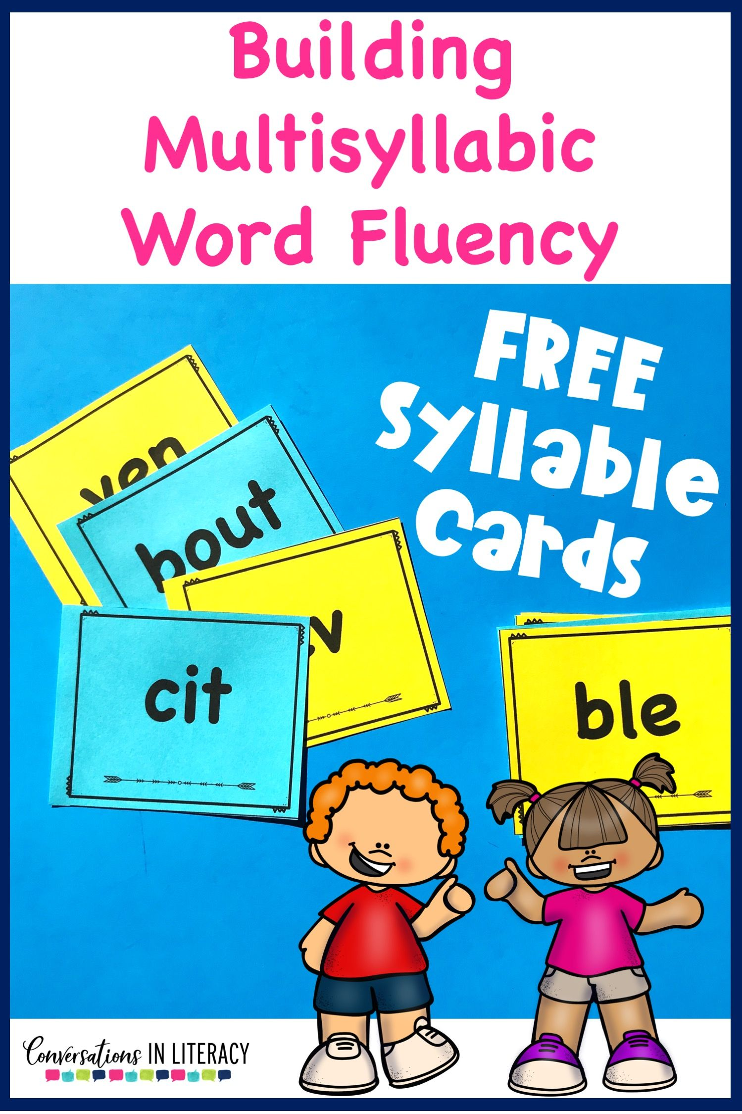 3 Things to Know for Teaching Multisyllabic Word Fluency - Conversations in Literacy Most Common No