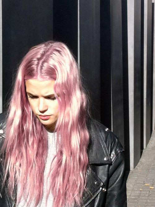 #hairstyle #hair #pink #pinkhair