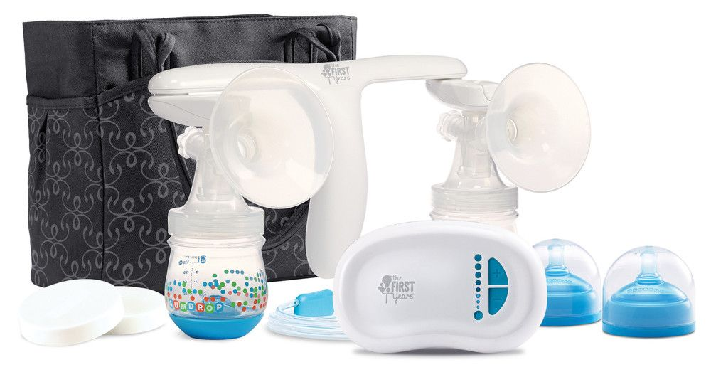 Tomy Quiet Expressions Breast Pump-Aeroflow Breastpumps Breast - double first