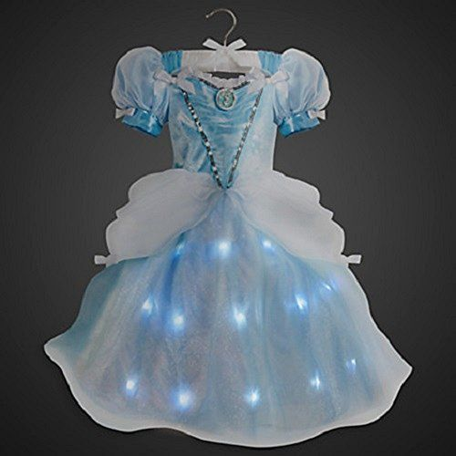 Disney Store Cinderella Deluxe Princess Interactive Light Up Costume RETIRED