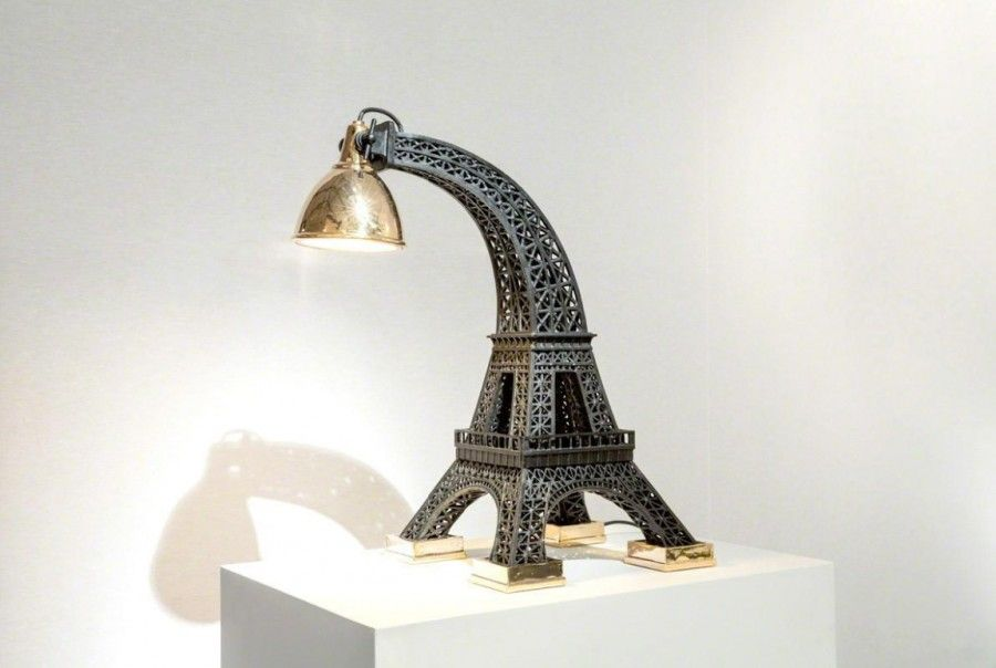 A Wilted Icon At Design Miami Smithsonian Cooper Hewitt National Design Museum In New York Eiffel Tower Lamp Miami Design Lamp