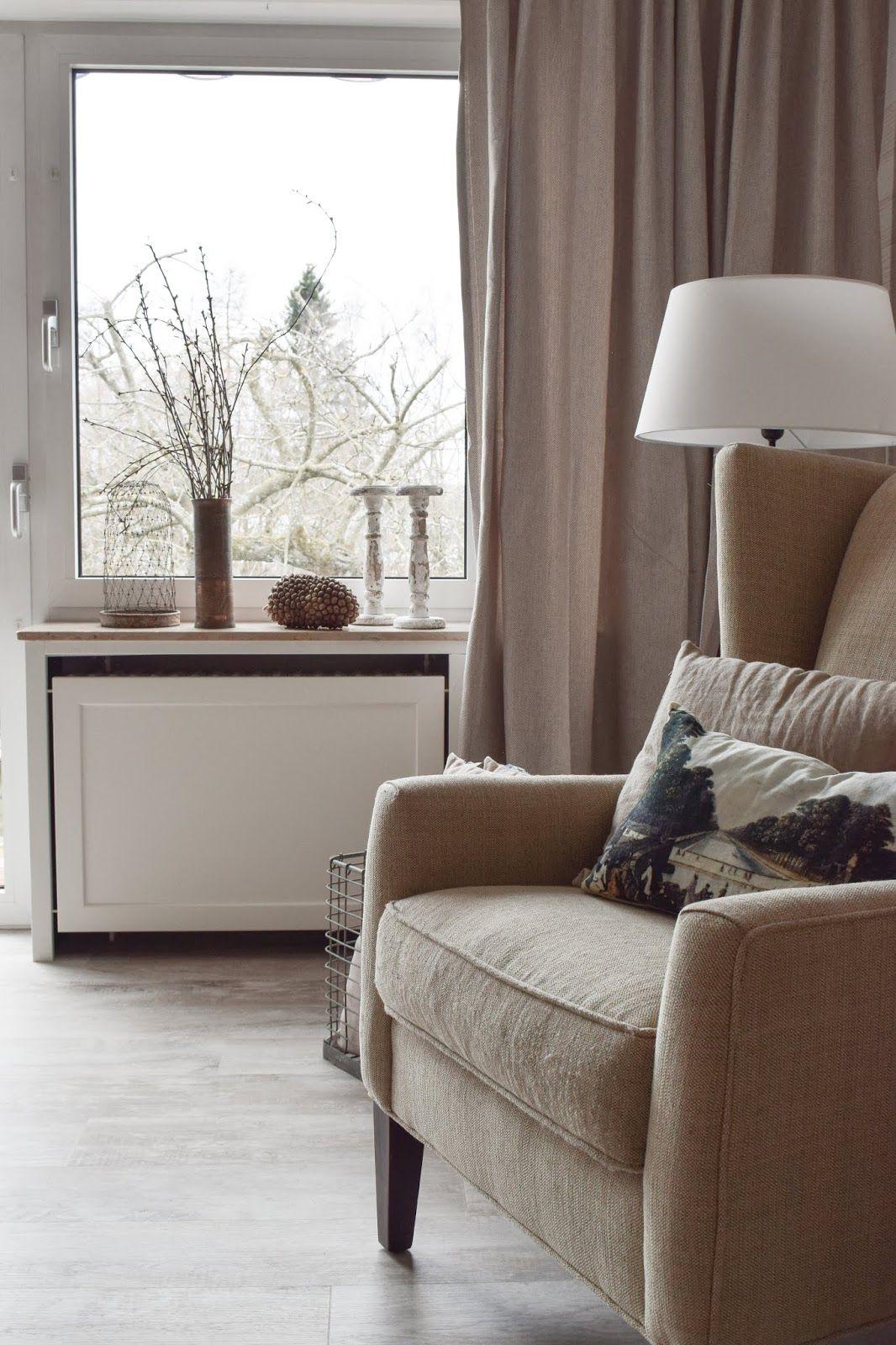 Wohnzimmer Dekoidee Holz Wandwood Verkleidung Heizkörper ...
