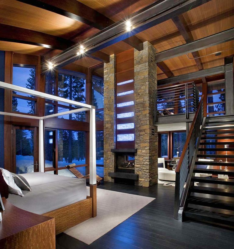 One Kindesign: A Spectacular Modern Mountain Style Dwelling In Martis