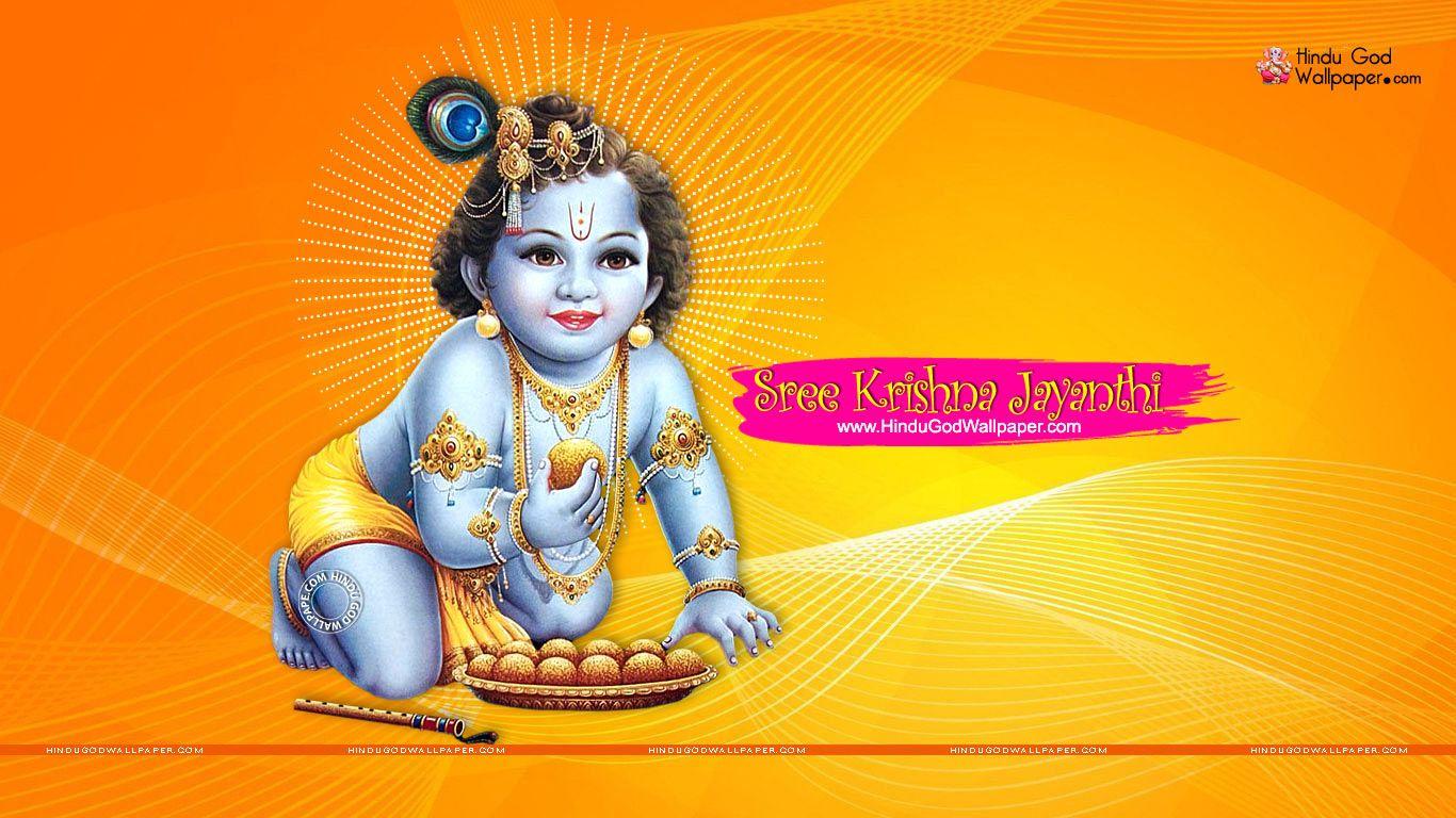 Sri krishna jayanti wallpaper - Sree Krishna Jayanthi Wallpaper