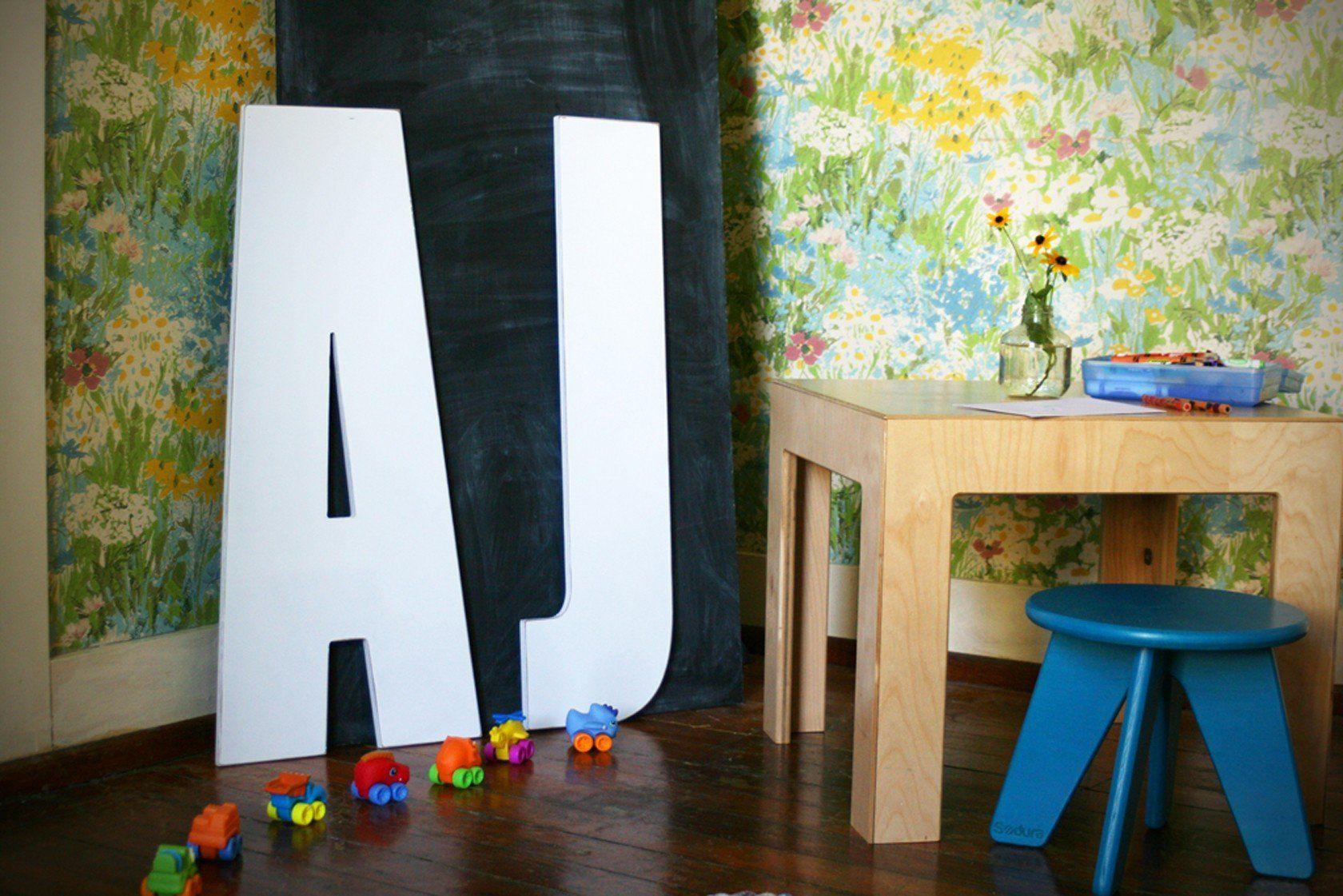Extra large wooden letters zanderus room pinterest big walls