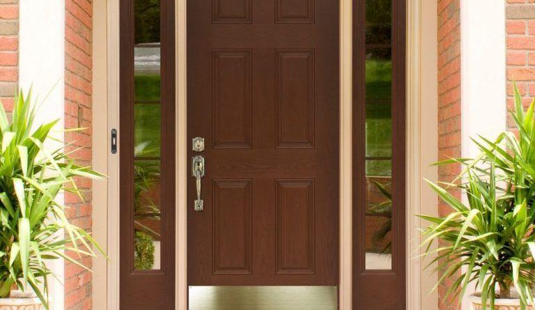 ابواب منازل اشكال ابواب خشب داخلية وخارجية للشقق قصر الديكور Beautiful Front Doors Modern Entrance Door Door Design