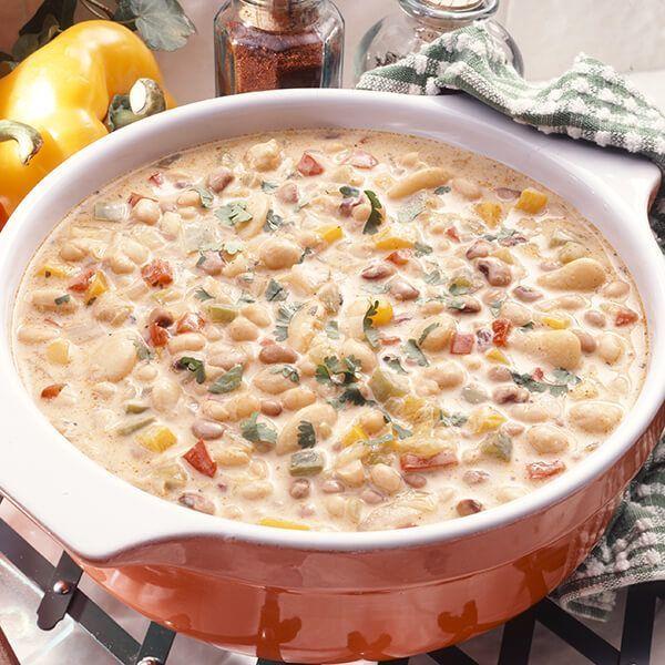 White Bean Chili #chilirecipe