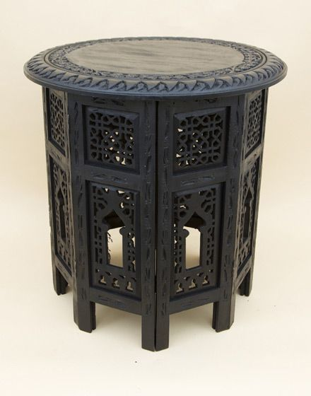 Furniture. Black Sheesham Wood Moroccan Table   Ideas for the House