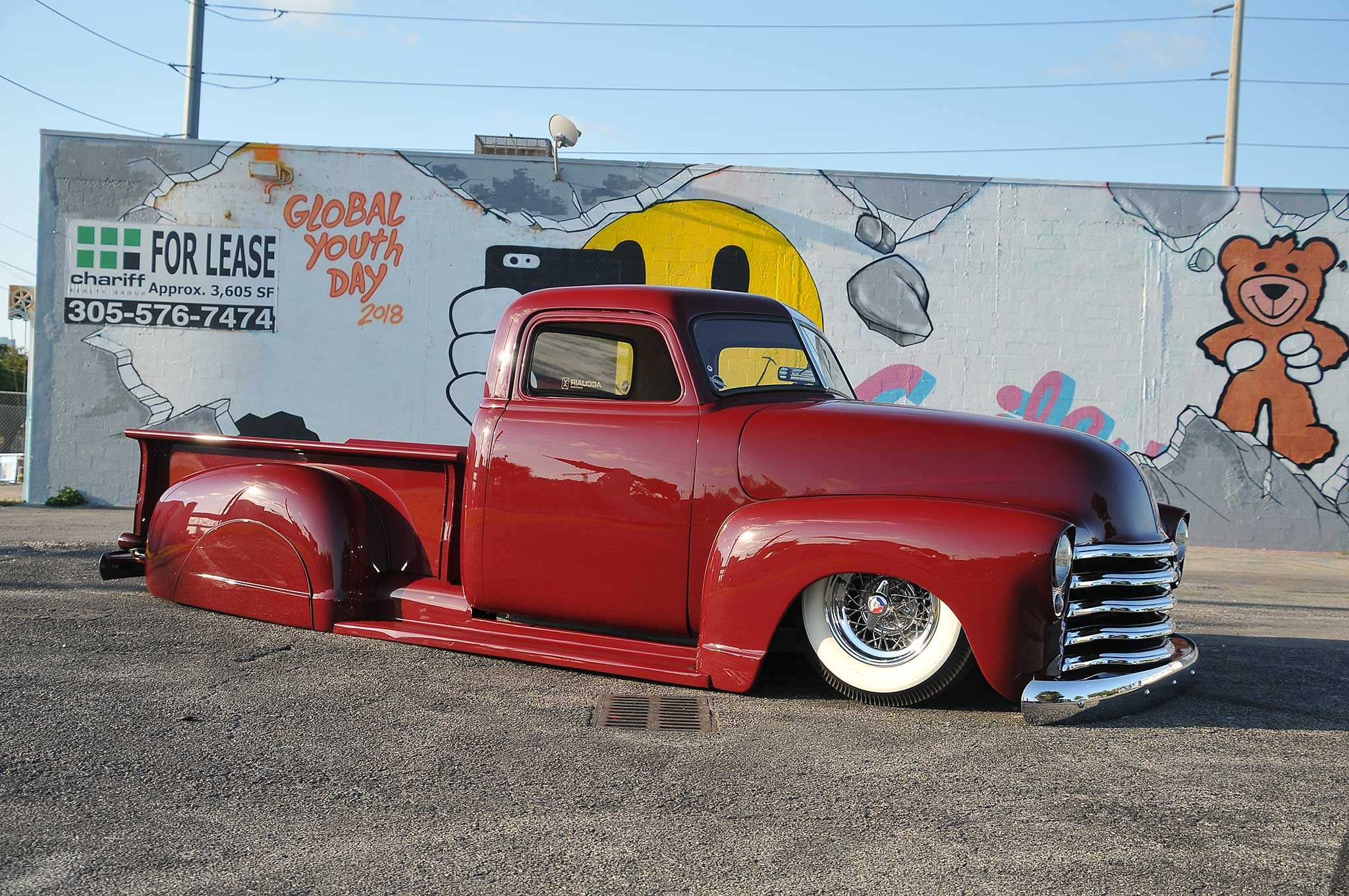 1952 Chevrolet 3100 The Red Head Chevrolet 3100 New Trucks