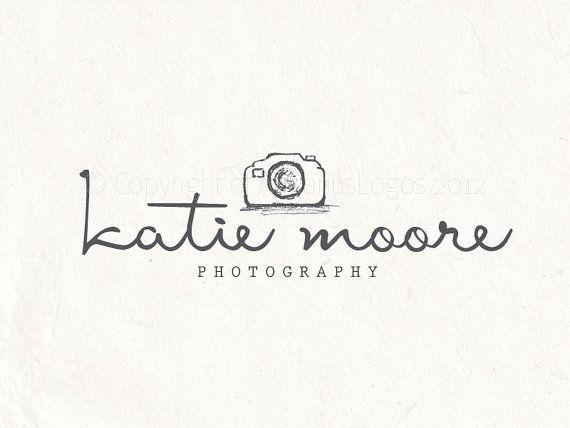 Photography Logo Design Sketched Camera Logo Watermark Etsy Photography Logos Photography Logo Design Photography Watermark