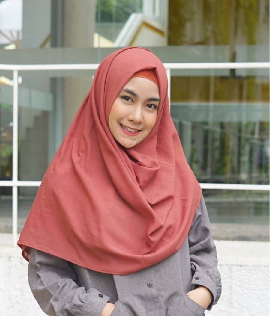 Tutorial Hijab Pashmina Menutup Dada Simple Blog Lif Co Id