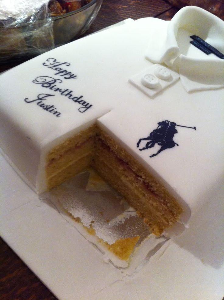 ralph lauren t shirt cake