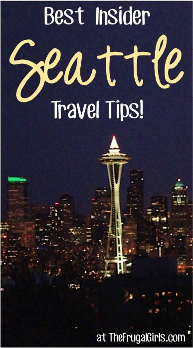 Best Insider Seattle Travel Tips! ~ you'll love these fun travel tips for the best restaurants, coffee, and insider local tricks for your next trip to Washington! | TheFrugalGirls.com
