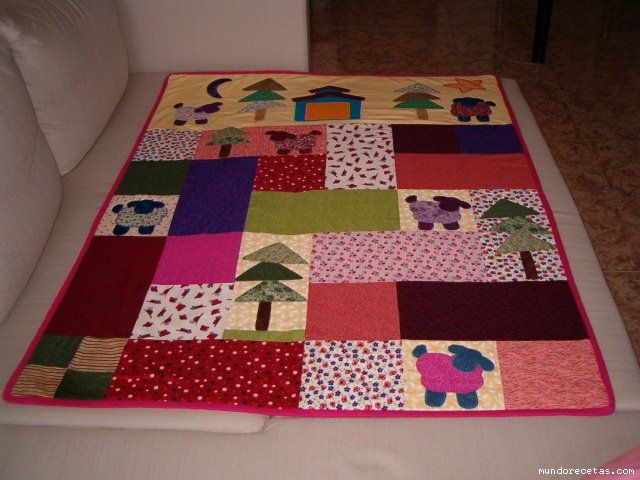 Tutorial colcha beb patchwork imagui patchwork bebe - Patrones colcha patchwork ...