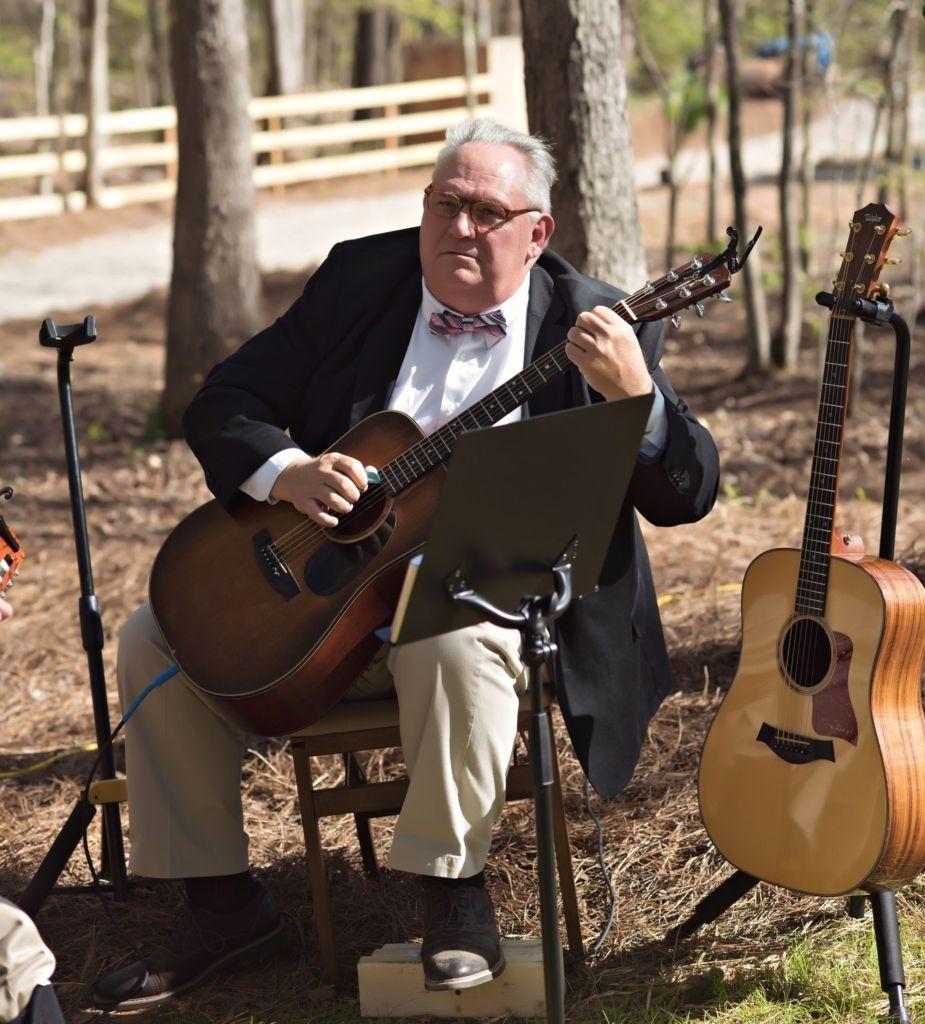 Outdoor Wedding Ceremony No Music: Backyard Wedding In Winston Salem North Carolina