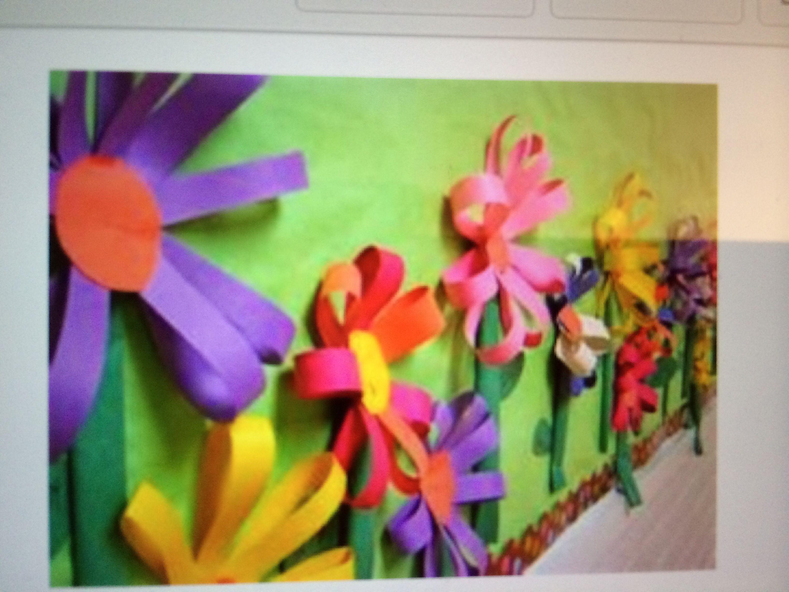 Mural Primavera | material murales | Pinterest | Murales, Primavera ...