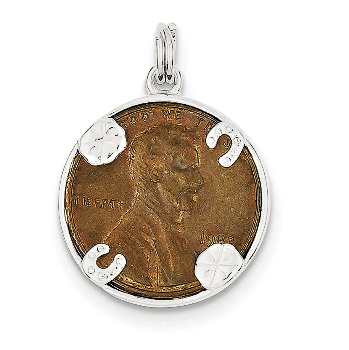 Sterling Silver Penny Charm