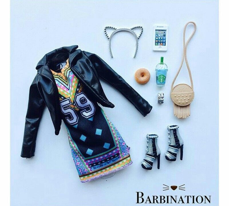 Pin de Monica Bru en Barbie Fashon. | Pinterest | Barbie, Ropa de ...