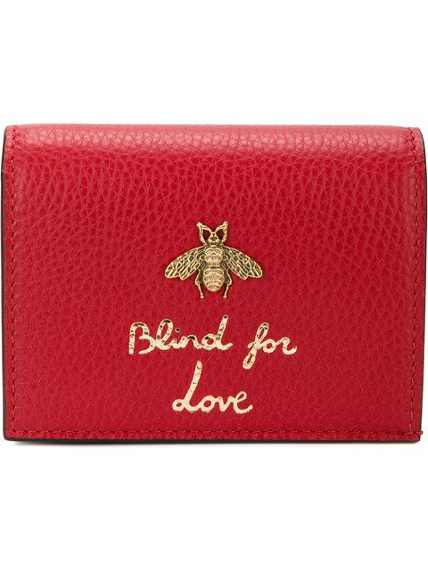 bfc94704704 GUCCI bee embellished wallet.  gucci  wallet