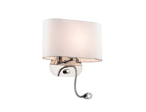 Moderne Lampen 70 : A n moderne schirm wand leuchte lese arm mm w stoff weiss