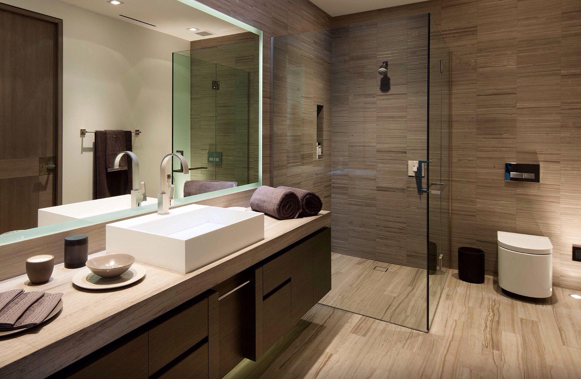 Bruine Badkamer » Badkamer idee new home badkamer badkamers en. In ...
