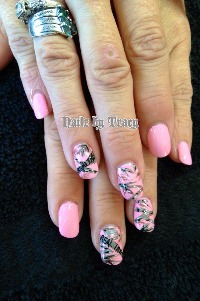 real tree nail art nailzbytracy
