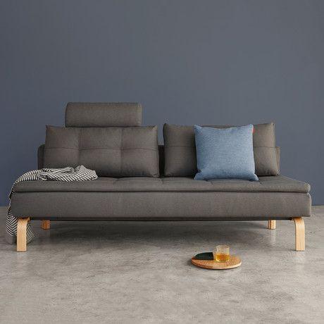 Dual Sofa Oak Legs Soft Grey Sofa Modern Sofa Bed Sofa Bed