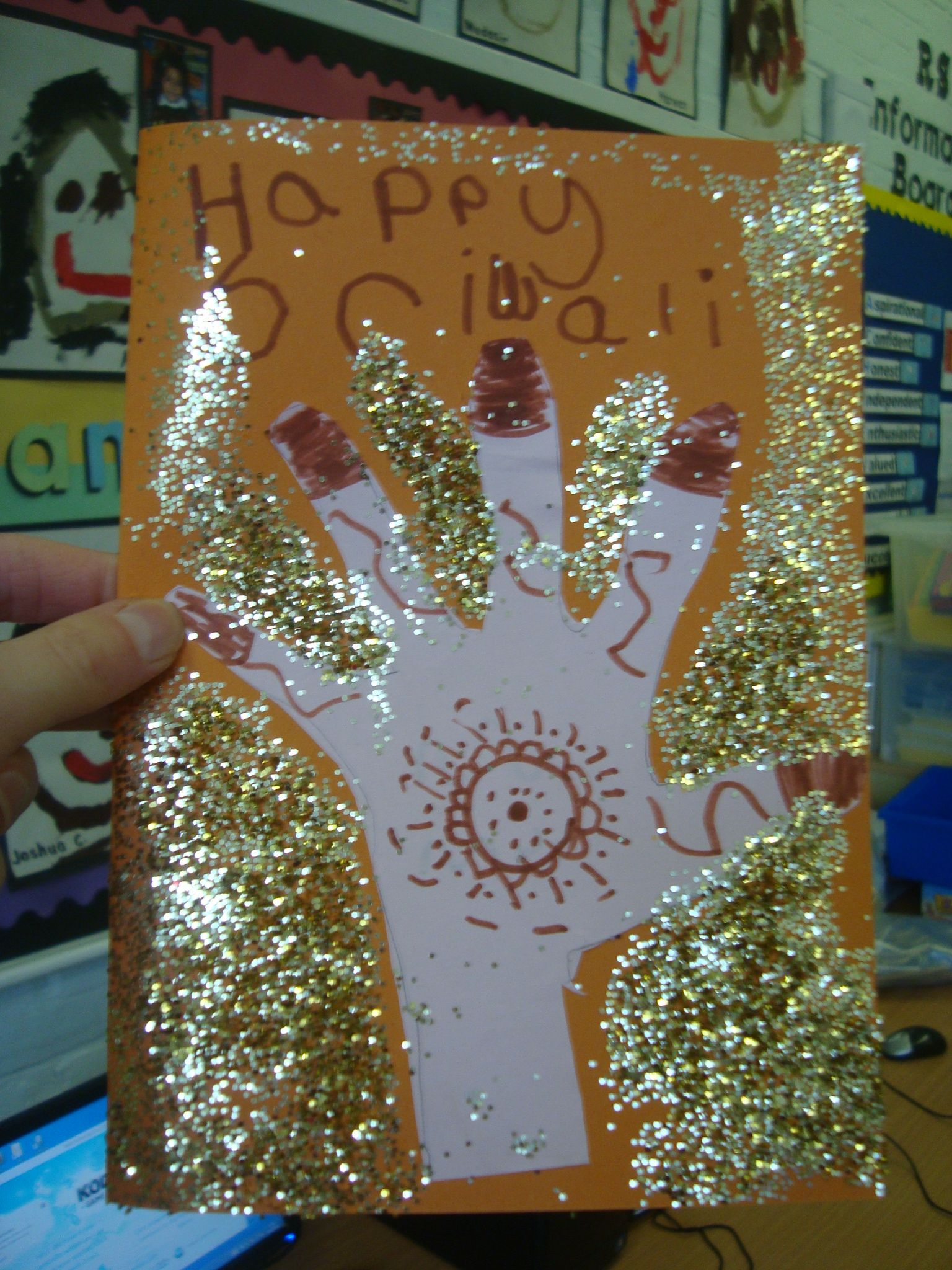Early Years Happy Diwali Card With Images
