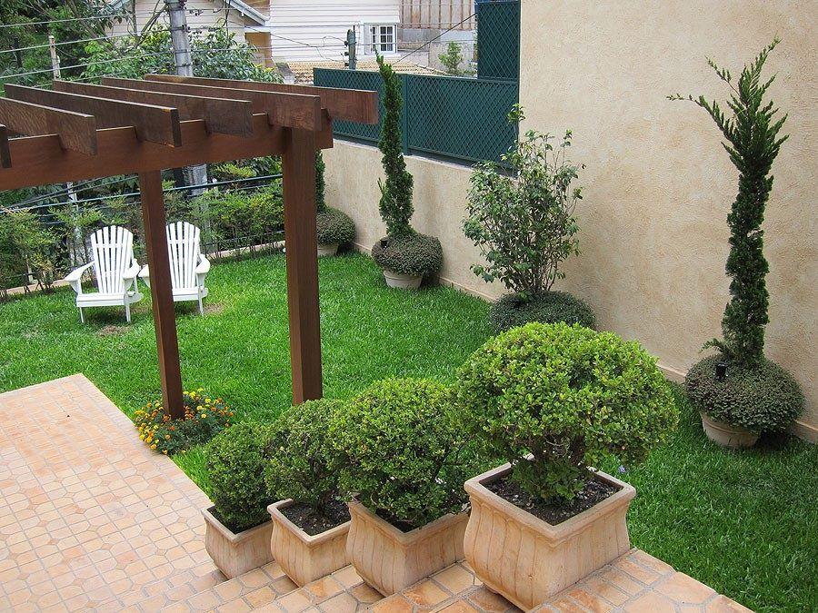 Jardim simples e bonito veja 50 ideias para fazer em for Jardins pequenos e simples